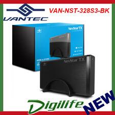 """Vantec NexStar USB 3.0 Hard Drive External Enclosure for 3.5"""" SATA III 6Gbps HDD"""