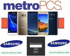 METRO PCS UNLOCK CODE FOR ALL SAMSUNG MODELS - NO APP LOCKED DEVICE