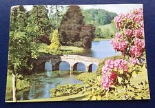POSTCARD: STOURHEAD GARDENS: USED: POSTED: POST DATE ON CARD IS 1978