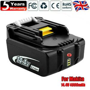 14.4V 4.0Ah Makita Battery BL1440 BL1450 BL1415 194066-1194065-3 Li-Ion Upgraded