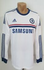 CHELSEA 2013/2014 AWAY PLAYER ISSUE SHIRT JERSEY LONG SLEEVE L/S TOP FORMOTION 9