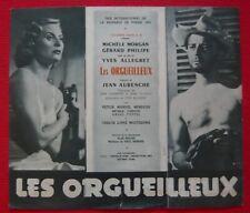 Dossier de presse de Les Orgueilleux (1953) - Gérard Philipe
