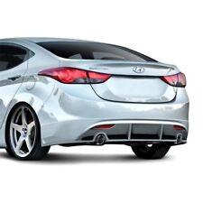 For Hyundai Elantra 11-13 Rear Bumper Lip Under Spoiler Air Dam Racer Style