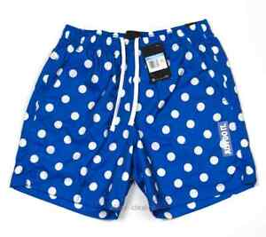 Nike Sportswear JDI BLUE Polka Dot Shorts Swimming Trunks Men's sizes M, L, XL
