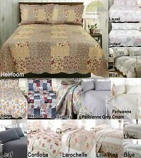 Country Tumble Dry Decorative Bedspreads