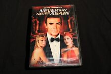 Never Say Never Again Used DVD Action Adventure Sean Connery MGM