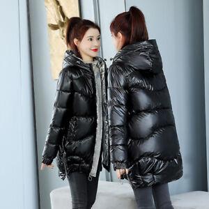 Women's Winter hooded Warm Long Padded jacket Cotton jacket Coat Hot
