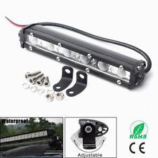 6Inch 18W Single Row LED Work Light Bar Driving Lamp Fog Off Road SUV Boat Truck