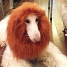 Pet Costume Lion Mane Wig Hair for Large Dog Halloween Fancy Dress up Brown L UP