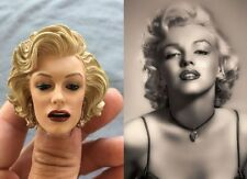 "1/6 Marilyn Monroe Head Sculpt 2.0 Painted For 12"" Hot Toys Phicen"