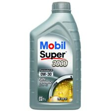 2 x Mobil Super 3000 LD 0W-30 Fully Synthetic 1L Car Engine Oil Lubricant 151219