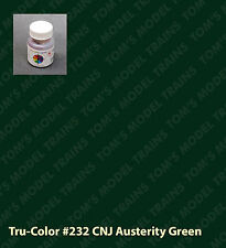 232 Tru-Color Paint CNJ Austerity Green (Jersey Central Lines, CRR of NJ)