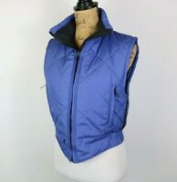 Marmot Quilted Blue Puffer Vest Womens S
