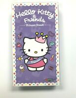 Hello Kitty & Friends Princess Dream VHS Kids Tape 4 Episodes Collectable