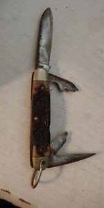 Kabar Camp-utility 4 Blade Knife- No. 1152