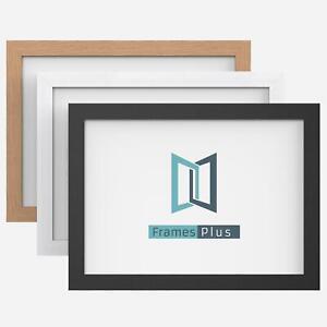 Picture Photo Frame Large Maxi Poster Frames Black White Oak Wood Effect