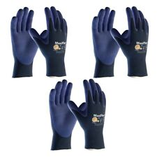 PIP ATG 34-274/M Medium MaxiFlex Elite, 18G Bl. Nylon Shell Gloves, 3-Pack