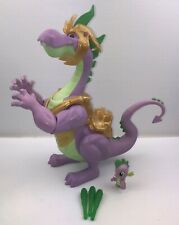 My Little Pony Large Talking Spike the Dragon + Baby Version + Accessories