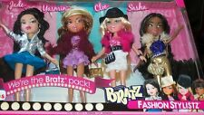 BRATZ * FASHION STYLISTZ * 4 dolls  Gift set. 2012