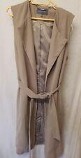 Laura Ashley long waistcoat tie belt size 10