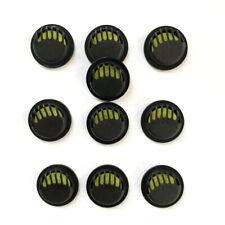 10PCS черный качественной круглой дыхательный клапан респиратор клапан аксессуары