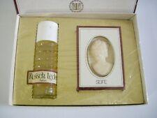 Vintage TAXOR RUSSISCH LEDER Set 25ml Parfum + 50g Soap Sealed NOS Germany