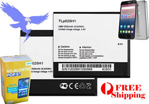 """Battery for Optus 4G Alcatel POP 5"""" Alcatel POP 4 - 5051X Free Shipping TLp025H1"""