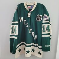 2004 CCM Autographed Los Angeles Kings Mattias Norstrom 14 All Star Jersey 2XL