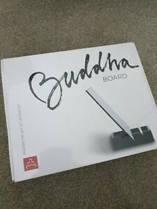 The Original BUDDHA BOARD: Relaxing Water Painting with Bamboo Brush & Stand new