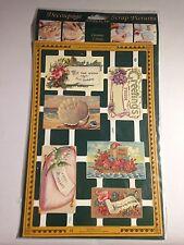 Vintage Greeting Card Scrap Decoupage Scrapbooking Die-cut Mamelok Press England