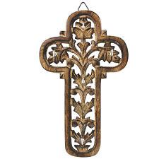 Handmade Wooden Wall Mounted Climbing Faith Key Holder Rack