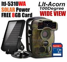 Ltl Acorn Ltl-5310Wa 44 IR LED Wide Angle 940NM Trail Camera + Solar + 8Gb SD