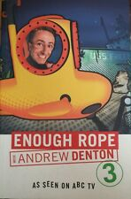 Enough Rope Book 3 Andrew Denton FREE AUS POST very good used cond Paperback '05