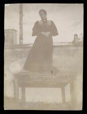 fotografia d'epoca albumina fine '800 DONNA WOMAN FEMME FRAU