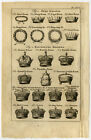 Antique Print-CROWNS-PAPAL-ROYAL-BRITISH NOBILITY-Buys-1770