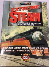 Questar Extreme Steam America's Greatest Steam Trains DVD set ISBN:1-59464-215-x