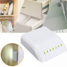 7 LED Smart Sensor Light Inner Hinge Lamp Cabinet Wardrobe Drawer Battery/SS*BH