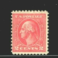 US #528 ~ Mint-OG 1920  2c Type Va Perf 11 Offset Press Printing...[SS].