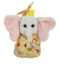 Baby Dumbo in a Pouch Blanket Plush Doll Stuffed Toy Cute Elephant Rare Kid Gift