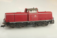 Fleischmann H0 DB BR 212 258-8 - Locomotive Runs Brauchbar Light OK - Dirt /