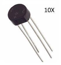 10X PONTE DI DIODI 1,5A 200V W02 raddrizzatore monofase 1.5A circuito arduino