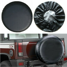 Universal 15'' Spare Tire Cover Wheel Tyre PVC Leather Covers Weather Resistant