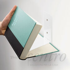 UMBRA CONCEAL SHELF SMALL SILVER MENSOLA A SCOMPARSA LIBRERIA INVISIBILE 13 CM