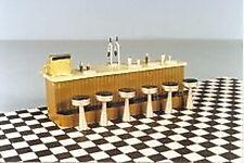 Berkshire Valley Models O/On3/On30, 1/48 Soda Counter w/ Stools kit- #456