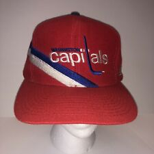 Vintage 90s Washington Capitals Youngan Hat Co. Snapback Cap NHL