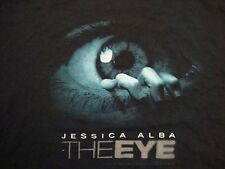 Jessica Alba The Eye Movie Promo Black Cotton T Shirt Size XL