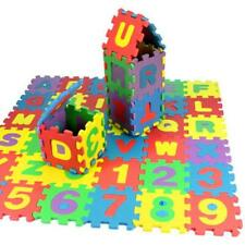 36 Pcs Baby Child Number Alphabet Puzzle Foam Maths Mat Educational Toy Kid Gift
