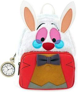 Loungefly x Disney White Rabbit Alice in Wonderland Mini Backpack Cosplay Bag