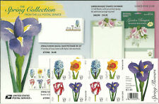 USA: Spring Flowers Booklet: 20x 37c Self-Adhesive Stamps: 2005: MNH