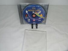 Peter Pan Return To Neverland Sony Ps1 PlayStation Play Station Game Tested Work